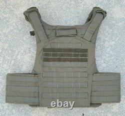 GH Armor Level IIIA SWAT Body Armor Bullet Proof Vest Ranger Green XL / XXL