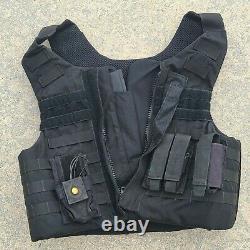 Gator Hawk TACTICAL / GH Body Armor Level IIIA Bullet Proof Vest X-LARGE Zip-Up