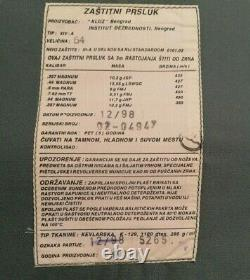 Genuine Serbian Police Bulletproof Cevlar Body Armor Protective Vest with 1Plate