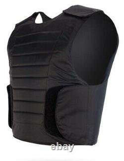 Hagor Israel Concealed Robo Black BulletProof Vest NIJ Level 3A IIIA Body Armor