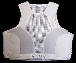 Hawk White Covert Body Armour Bullet Proof Stab Vest For Security Grade A