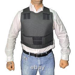 Israeli Light VIP Concealed Body Armor Bullet Proof Vest IIIA Protection