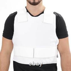 Israeli Light VIP Concealed Body Armor Bullet Proof Vest (XXL) IIIA Protection