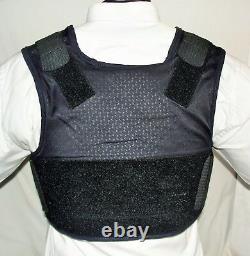 Large Female IIIA BulletProof Concealable Body Armor Carrier Vest with Inserts