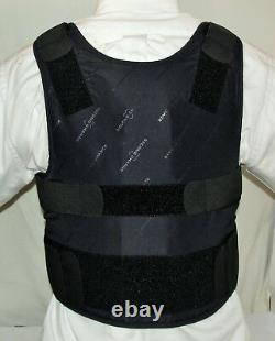 Large IIIA Lo-Vis Concealable Body Armor Carrier BulletProof Vest