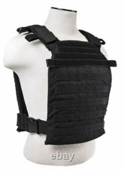 Level IIIA+ 3A+ Body Armor FLAT ArmorCore Bullet Proof Plate Carrier 11x14 BLK