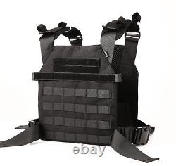 Level IIIA+ 3A+ Body Armor FLAT PLATE CARRIER Bullet Proof Vest BAM REBEL -B