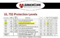 Level IIIA+ 3A+ Body Armor FLAT PLATE CARRIER Bullet Proof Vest BAM REBEL -C
