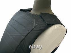 Level IIIA 3A Bullet Proof Vest Body Armor XL with 2x Free Anti Truama ROBO XL