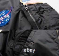 Light Weight Discreet MA1 NASA Bomber NIJ-IIIa Bulletproof Windbreaker Jacket