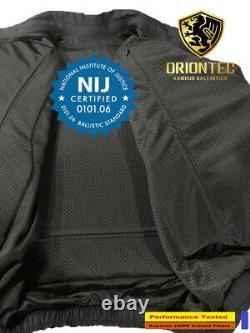 Light Weight Level NIJ-IIIa UDPE discreet unnoticeable Bullet Proof Jacket