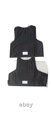 LllA BULLETPROOF Made With Kevlar Plates Body armor 3a Inserts Panels Panels