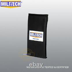 MILITECH NIJ 3A 6X12 Pair Ballistic Bulletproof Aramid Soft Armor Side Panels