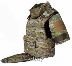 M Set Body armor Gear defence bulletproof Tactical vest waterproof & pads