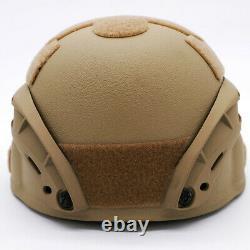 Made With Kevlar NIJ IIIA Level Bulletproof Tactical Ballistic Helmet withCover