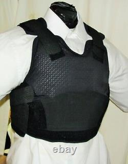 Med Female IIIA BulletProof Concealable Body Armor Carrier Vest with Inserts