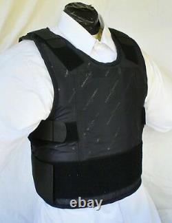 Med IIIA Lo-Vis Concealable Body Armor Carrier BulletProof Vest