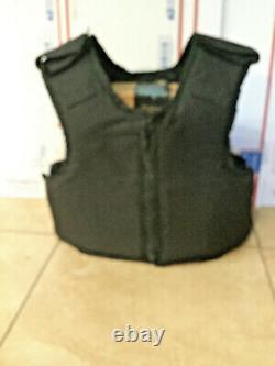 Medium Body Armor Bullet Proof Vest With Plates / panels level II 7638