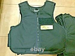 Medium Body Armor Bullet Proof Vest With Plates / panels level II 9
