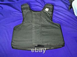 Medium Body Armor Bullet Proof Vest With Plates / panels level II + plate 418