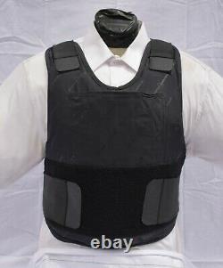 Medium Concealable Body Armor Carrier BulletProof Vest Level IIIA
