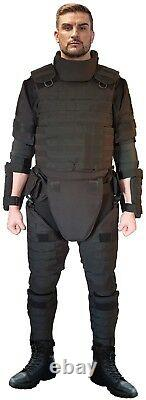 NEW set Body Armor Gear Protection Tactical vest & bulletproof kevlarr elements