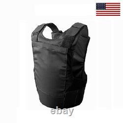 NIJ 3A Concealable Bulletproof Vest Stabproof Body Armor Medium