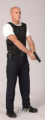 NIJ 3A Concealable with Kevlar Bulletproof Vest Body Armor Small