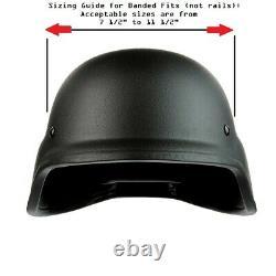 NIJ IIIA Ballistic Visor Mask Bulletproof Clear Face Shield, 2 Attachment Types