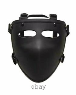 NIJ IIIA Ballistic Visor Mask Bulletproof Face Shield (SEE VIDEO) USA Returns