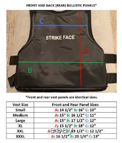 NIJ IIIA UHMWPE Ballistic Bullet Resistant Bulletproof Vest Lightweight