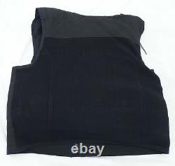 New Hawk Black Overt Body Armour Bullet Proof Spike Stab Vest For Security