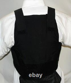 New Large Carrier IIIA Concealable Body Armor BulletProof Vest with Inserts