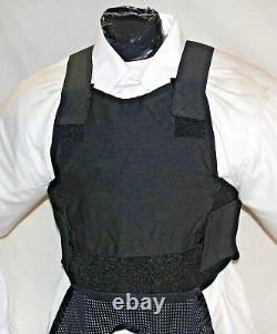 New Medium Lo Vis Concealable Carrier IIIA Inserts Body Armor BulletProof Vest