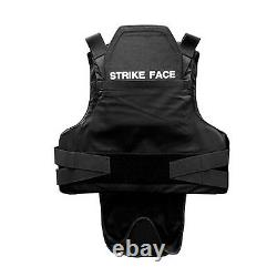 New NIJ Certified 3A w Kevlar Bulletproof Stab Resistant Vest Body Armor Small