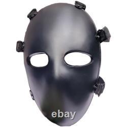 New PE Ballistic Bullet Proof Face Mask Body Armor NIJ Level IIIA 3Aface Mask