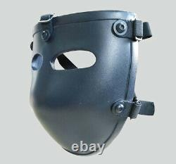 New PE Ballistic Bullet Proof Face Mask Body Armor NIJ level IIIA 3A Hot
