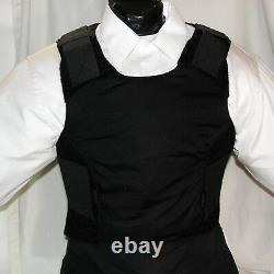 New XXL Concealable IIIA Body Armor BulletProof Made with DuPont Kevlar Vest