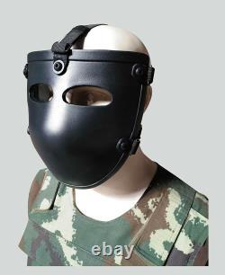 PE Ballistic Bullet Proof Face Mask Body Armor NIJ level IIIA 3A Hot