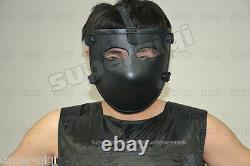 PE Bullet Proof Bulletproof Face Mask body armor NIJ level IIIA 3A one size