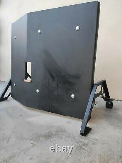 Protective Bulletproof Shield Resistant Military Armor Ballistic Plate