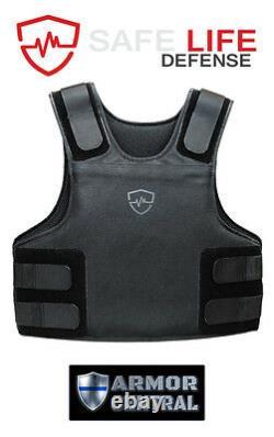 Safe Life Defense Level IIIA Body Armor Multi-Threat Bullet Proof Vest 3X-Large