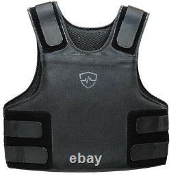 Safe Life Defense Level IIIA Body Armor Multi-Threat Bullet Proof Vest Large