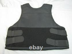 Safe Life Defense Level IIIA Body Armor Multi-Threat Bullet Proof Vest XL GS