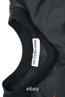 Safeguard Ballistic Vest Bulletproof Black Medium 3A IIIa