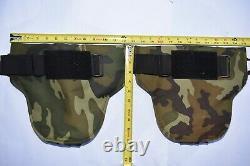 Set Safariland Level IIIA DAP Ballistic Shoulder Plates Body Armor Bulletproof