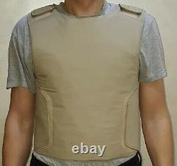 Size XL Concealed carry bullet proof Vest Body Armor IIIA