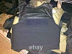 Small Body Armor Bullet Proof Vest With Plates / panels level II