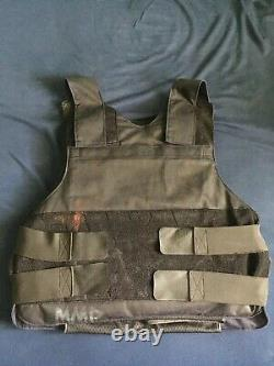 THE PUNISHER bullet proof vest carrier dual sided protection level 3 size medium