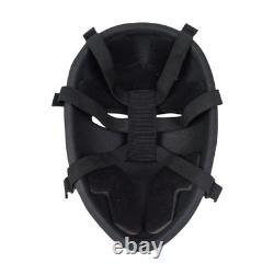 Tactical Armor Lev NIJ IIIA Ballistic Face Mask Bulletproof Shield Stops 44MAG